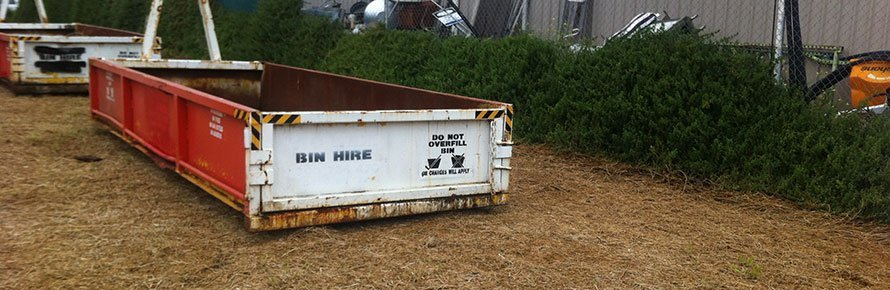 Big Bin Hire Side Traller