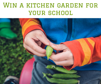 Win a kitchen garden for your school